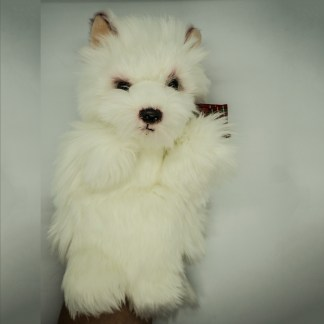 West Highland Terrier Glove Puppet
