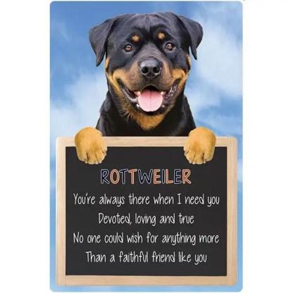 030717117390: 3D Hangable Verse Rottweiler