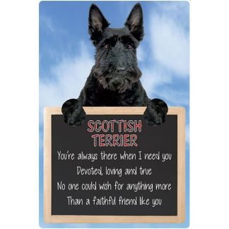 030717117413: 3D Hangable Verse Scottish Terrier