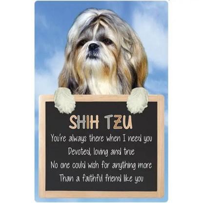 030717117420: 3D Hangable Verse Shih Tzu