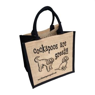 Cockapoos are Great Jute Bag