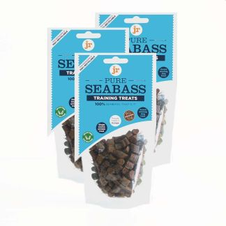 634158951404 JR 100% Healthy Pure Seabass Training Treats