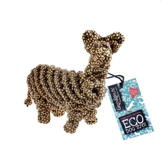 703625145483 Lionel the Llama Eco Dog Toy
