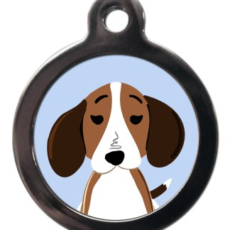 Beagle BR1 Dog Breed ID Tag