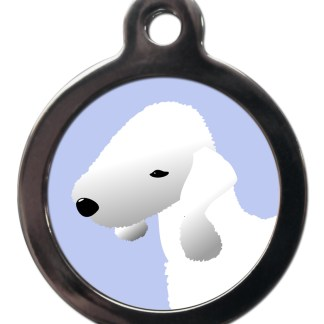 Bedlington Terrier BR29 Dog Breed ID Tag