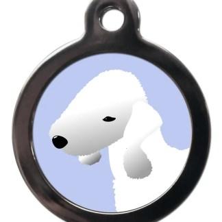 Bedlington Terrier BR29 Dog Breed ID Tag