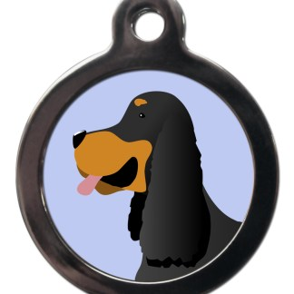 Gordon Setter BR34 Dog Breed ID Tag