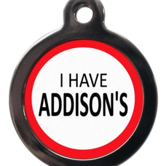 Addison's ME34 Medic Alert Dog ID Tag