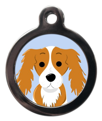 King Charles Spaniel BR11 Dog Breed ID Tag