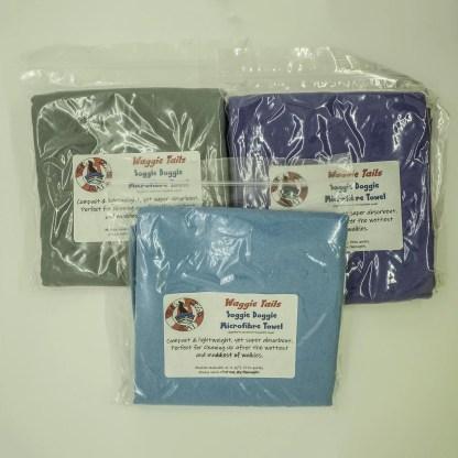 Waggie Tails Soggie Doggie Microfibre Towel