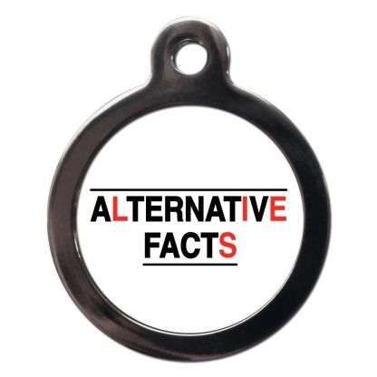 Alternative Facts CO100 Comic Dog ID Tag