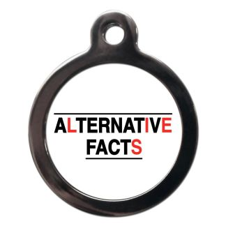 Alternative Facts CO100 Comic Dog ID Tag