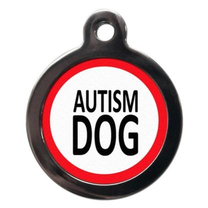 Autism Dog ME16 Dog ID Tag