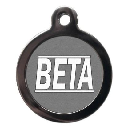 Beta CO28 Comic Dog ID Tag