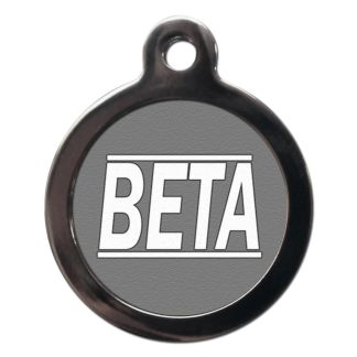 Beta CO28 Comic Dog ID Tag