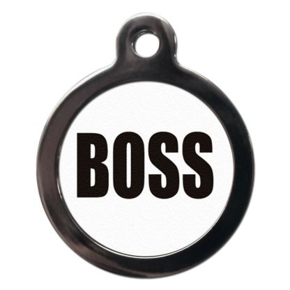 Boss CO24 Comic Dog ID Tag