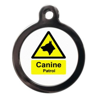 Canine Patrol CO49 Comic Dog ID Tag