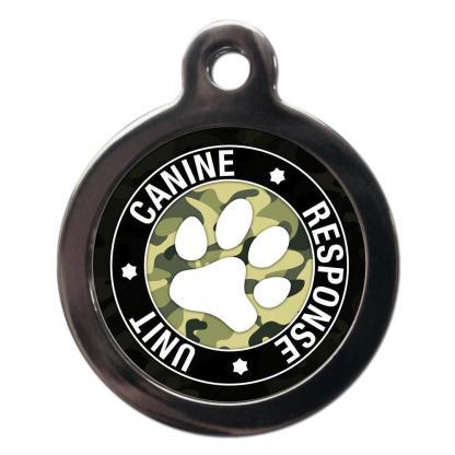 Canine Response Unit CO93 Comic Dog ID Tag
