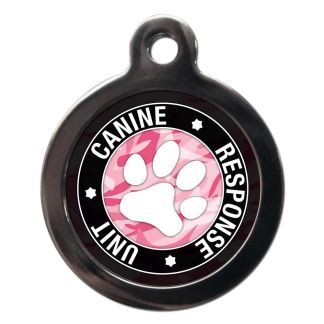 Canine Response Unit CO94 Comic Dog ID Tag
