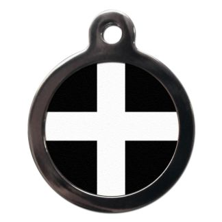 Cornish Flag FL29 Dog ID Tag
