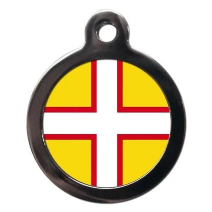 Dorset Flag FL36 Dog ID Tag