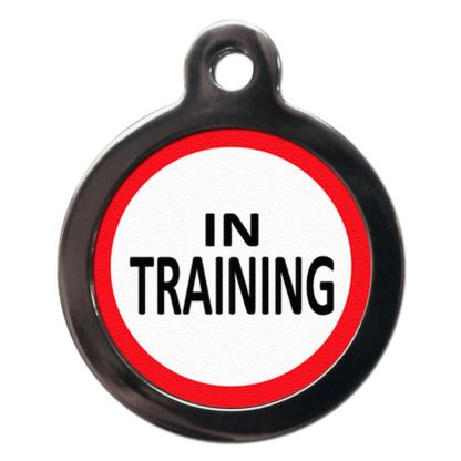 In Training ME14 Dog ID Tag