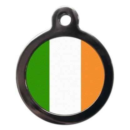 Irish Flag FL1 Dog ID Tag