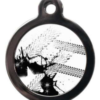 Gridlock PA17 Pattern Dog ID Tag