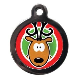 Reindeer FE22 Festive Christmas Dog ID Tag
