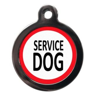 Service Dog ME17 Dog ID Tag