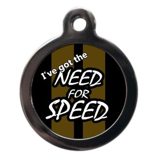 I've got the Need for Speed CO79 Comic Dog ID Tag