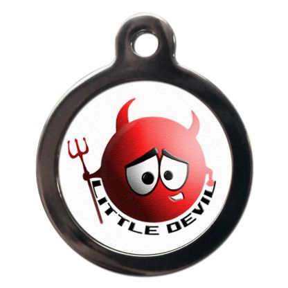 Little Devil CO16 Comic Dog ID Tag