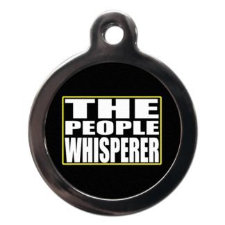 People Whisperer CO37 Comic Dog ID Tag