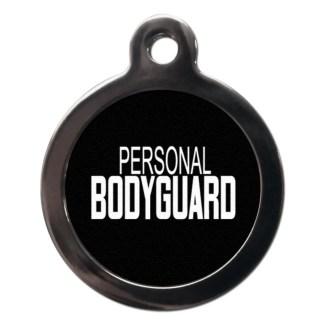 Personal Bodyguard CO58 Comic Dog ID Tag