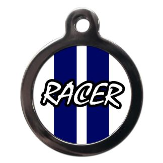 Racer CO76 Comic Dog ID Tag