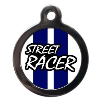 Street Racer CO78 Comic Dog ID Tag