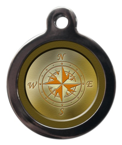 Compass NA3 Nature Dog ID Tag