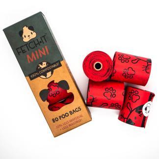 0036336848139 Fetch It Mini Compostable Poo Bags