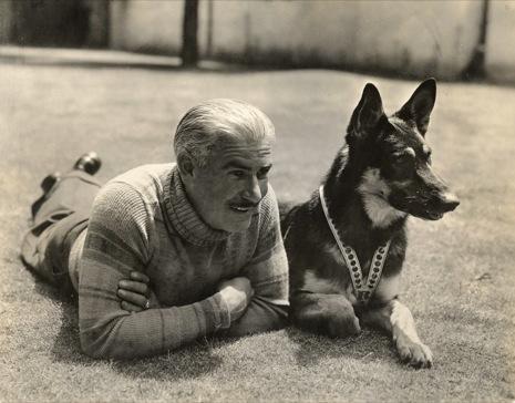 Lee Duncan and Rin Tin Tin