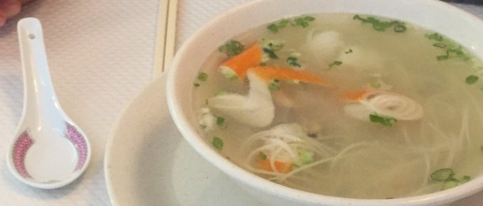 Chinese Soup in Chantilly, France