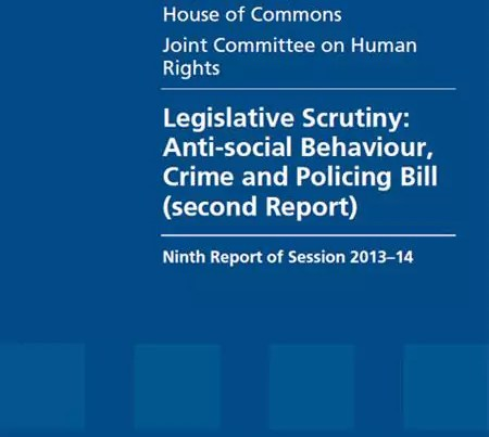 Anti-Social Behaviour. Crime and Policing Bill. Dog Legislation