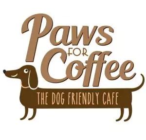 Pawsforcoffee Logo White 1