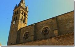 Iglesia de Alet-les-Bains con la estrella de David
