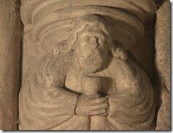 Representación de José de Arimatea en el interior de Rosslyn