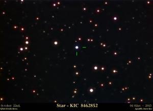 La estrella KIC 8462852
