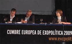 Javier Sierra, Miguel Celades y Pepon Jover en Exopolitica 2009
