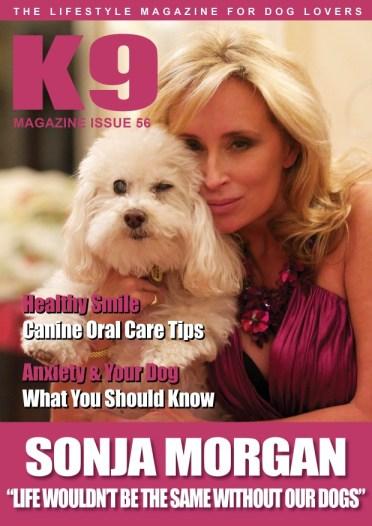 K9 Magazine Issue 56 - Sonja Morgan - web