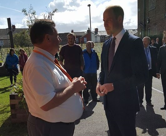 Prince William Visits Dog Rescue to Find out How Dogs Are Helping People with Mental Health Problems