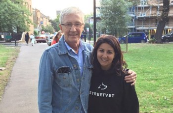 Paul O'Grady Vows to Help Homeless Pets and Their Owners, Joining Streetvet Team 4