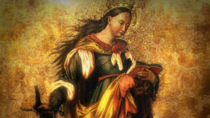 Se Santa Caterina di Alesandria fosse vissuta oggi…